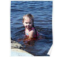kynlie at the lake Poster