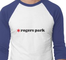 Rogers Park Neighborhood Tee Men's Baseball ¾ T-Shirt