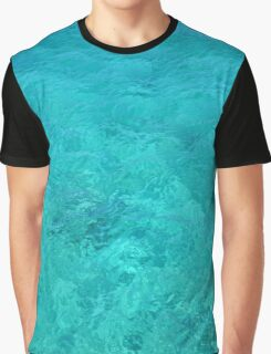 Clear Turquoise Water Graphic T-Shirt