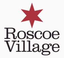 Roscoe Village Neighborhood Tee Kids Tee