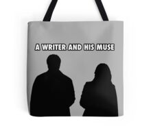 A writer and his muse Tote Bag