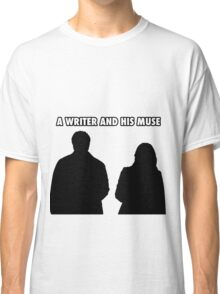 A writer and his muse Classic T-Shirt