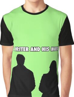 A writer and his muse Graphic T-Shirt