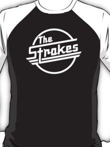 The Strokes Rock Band Black T-Shirt