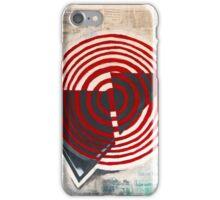 """danger & disaster""  iPhone Case/Skin"