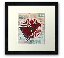 """""""danger & disaster""""  Framed Print"""