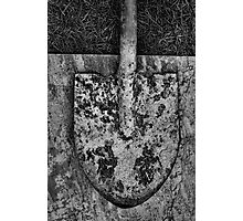 Shovel Photographic Print