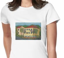 Summer cityscape Womens Fitted T-Shirt