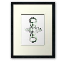 Mitt Romney vintage 2012 Framed Print