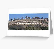 Mount Panorama Greeting Card