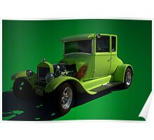 1926 Ford Model T  Hot Rod Poster