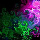 Neon Swirls by Jessicabritton