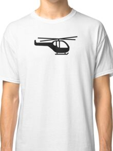 Helicopter pilot aviation Classic T-Shirt