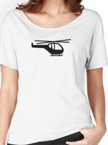 Helicopter pilot aviation Women's Relaxed Fit T-Shirt