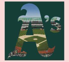 Oakland Athletics Stadium Logo Kids Clothes