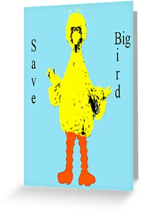 Save Big Bird by Scott Larson