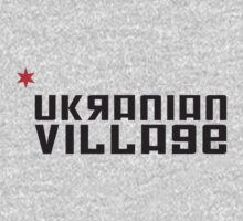 Ukranian Village Neighborhood Tee One Piece - Long Sleeve