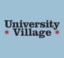 University Village Neighborhood Tee Kids Tee