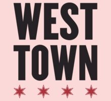 West Town Neighborhood Tee Baby Tee