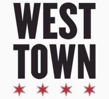 West Town Neighborhood Tee by Chicago Tee