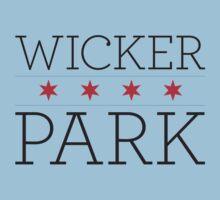Wicker Park Neighborhood Tee by Chicago Tee