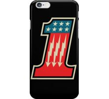Cool Number One 1 iPhone Case/Skin