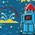 DEVO Bots 008 by RemoCamerota