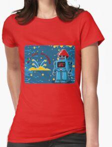 DEVO Bots 008 Womens Fitted T-Shirt