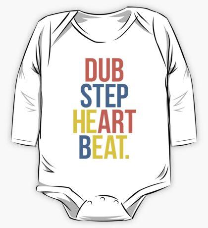 Dubstep Heart Beat. (Pun) One Piece - Long Sleeve