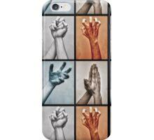 Hands Signals iPhone Case/Skin