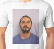 Shia Labeouf Mugshot Unisex T-Shirt