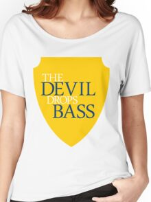 The Devil Drops Bass Women's Relaxed Fit T-Shirt