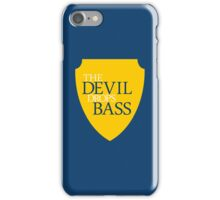The Devil Drops Bass iPhone Case/Skin