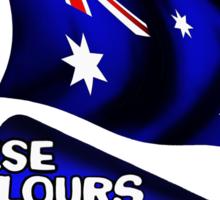 These Colours Don't Run - Australia Sticker