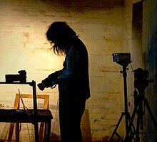 Photographer at work ~ Goulburn Brewery by Rosalie Dale