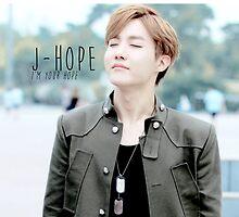 "BTS/Bangtan Sonyeondan - J-hope ""I'm Your Hope"" by skiesofaurora"