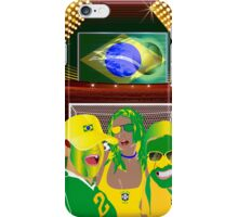 Brazil Football Fan Club  iPhone 5 Case / iPhone 4 Case  iPhone Case/Skin