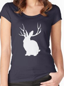 The Rabbit Women's Fitted Scoop T-Shirt