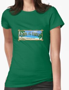 Ends of the Earth (ver2) Womens Fitted T-Shirt