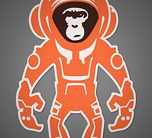 Monkey Crisis On Mars by Tom Mayer