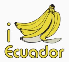 I LOVE ECUADOR T-shirt by ethnographics