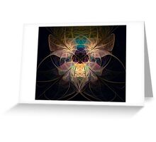 Lace Threads Greeting Card