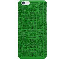 Doodled - Green Envy iPhone Case/Skin