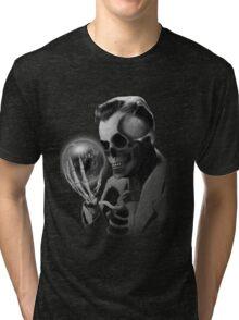 The Skeleton Man Tri-blend T-Shirt