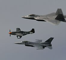 Fleet Week Heritage Flight Tribute by fototaker