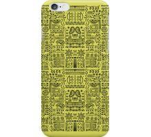 Doodled - Lemon Lime iPhone Case/Skin