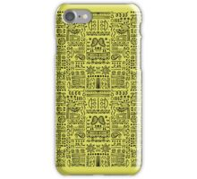 Doodled - Lemon Lime iPhone Case/Skin