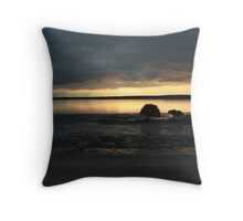 Beach shots Melbourne Throw Pillow