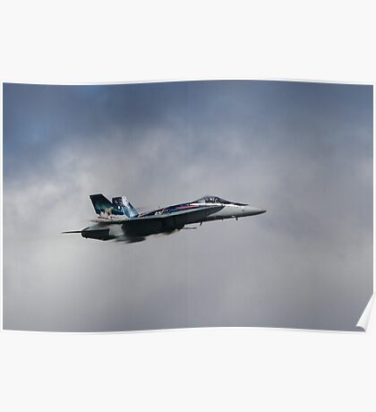 Royal Canadian Air Force F-18 Hornet Poster