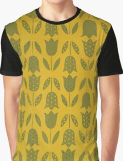 """""""Mod Tulips - HARVEST GOLD"""" Graphic T-Shirt"""